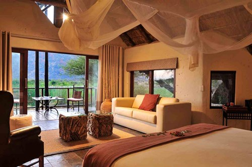 Deluxe Chalets Accommodation at Tau, a South