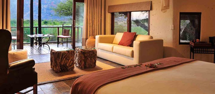 Tau Game Lodge Accommodation, Room Type 4: Family Suite