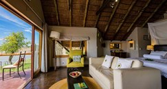 lodge with deluxe chalets which accommodates 1-2