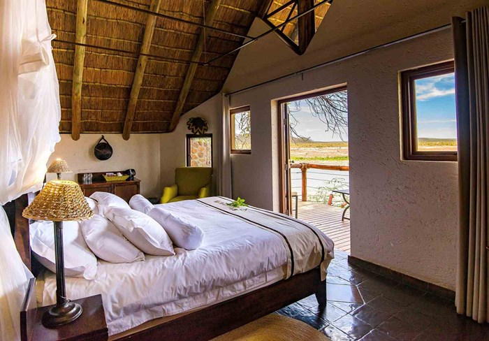 Tau Game Lodge Accommodation, Room Type 1: Standard Chalets